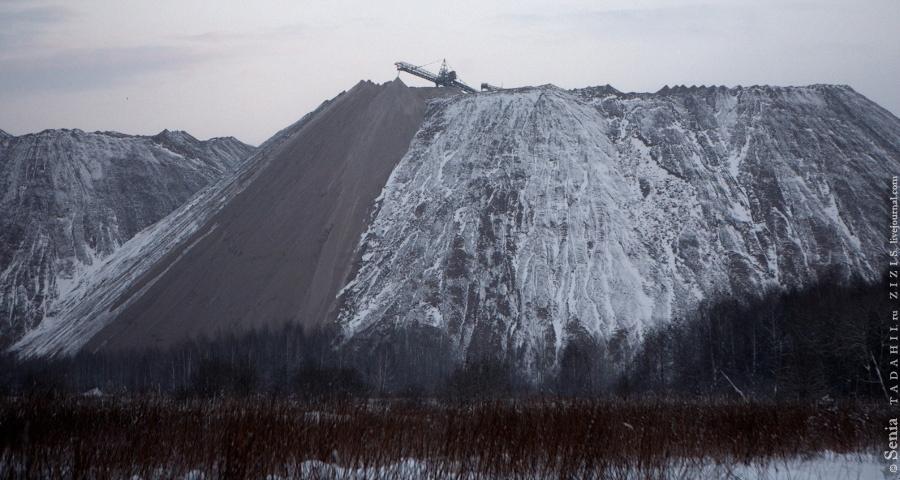 Вот так растут искусственные горы.