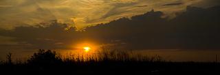 Закат на Дону.