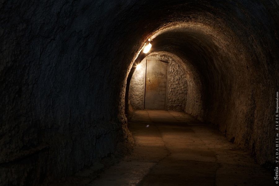 Секретная подземная лаборатория была последней посещенной точкой в Кунгуре.