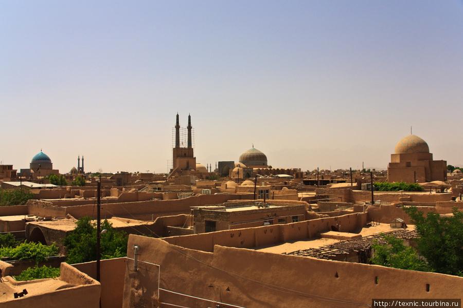 Get lost in Yazd