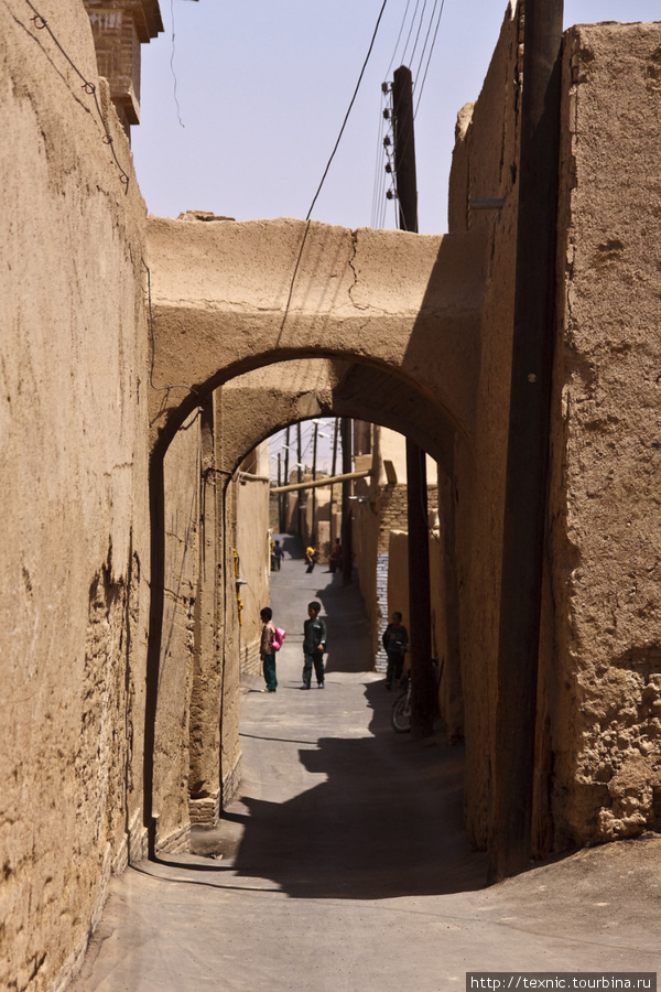 Типичная улочка