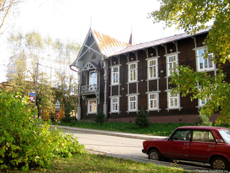 Уютные улочки Томска...