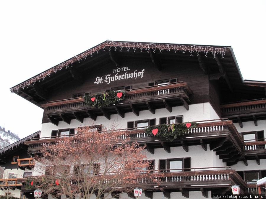 Отель  3 звезды в традиционном австрийском стиле