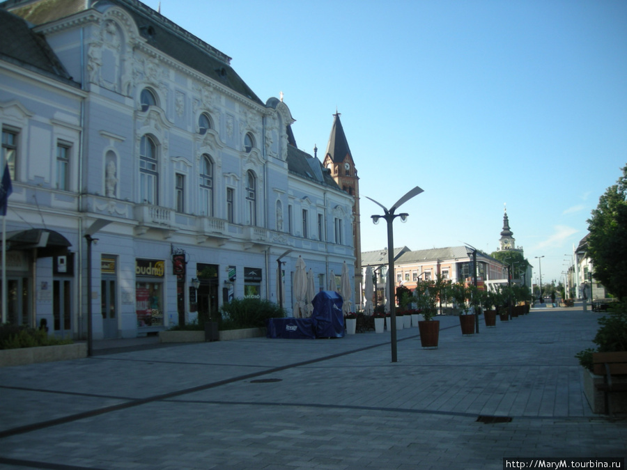 Наш первый и последний отель в Венгрии.