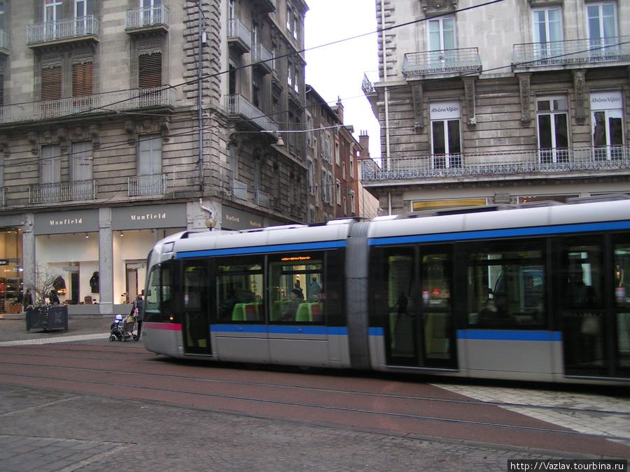 Гренобльский трамвай