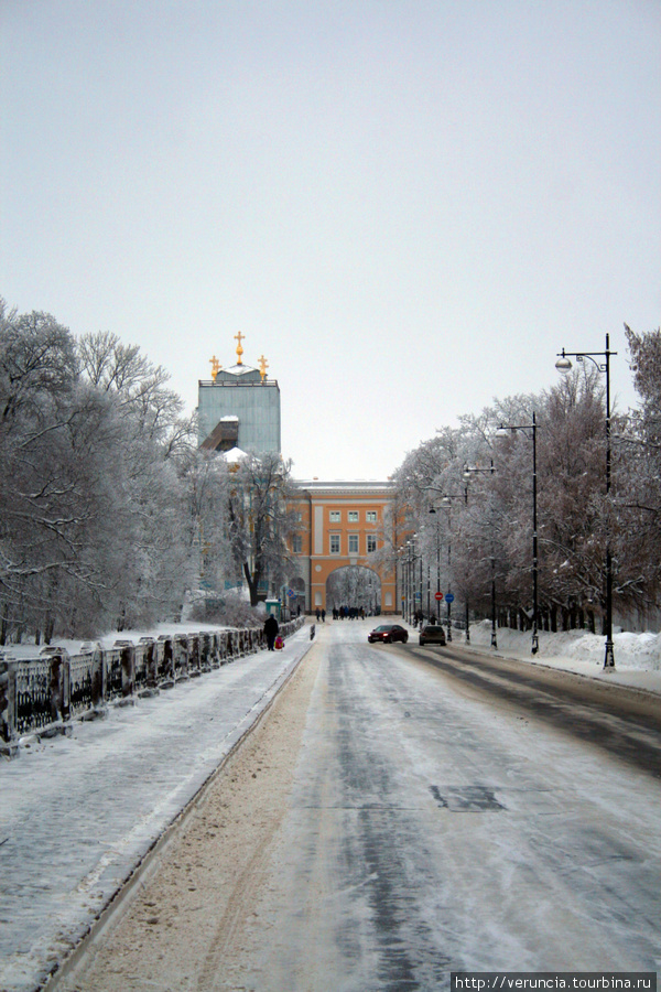 Лицей в Царском селе, где учился Пушкин.