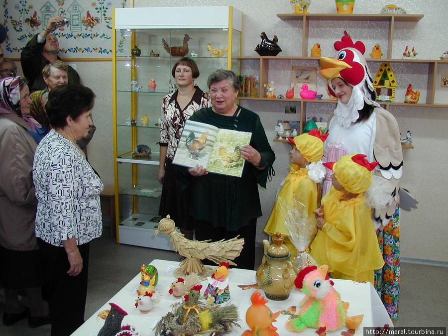 Экскурсия в Музее Курочки Рябы в посёлке Ермаково