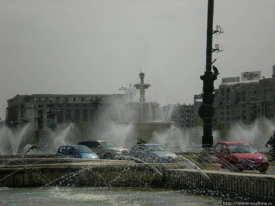 фонтаны на пл. Unirii