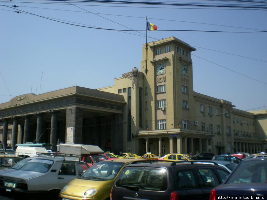 Ж/д вокзал — Gara de Nord