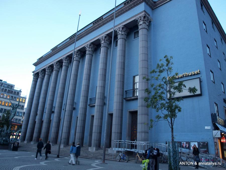 Стокгольмский концертный зал, где вручают премии