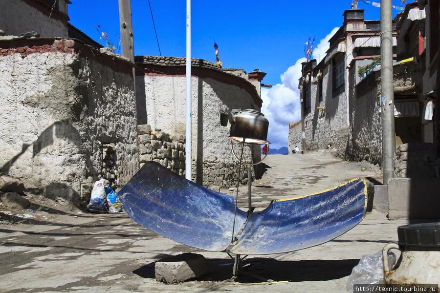 Тибетцы до сих пор кипятят воду вот на таких «устройствах», не доверяя электричеству