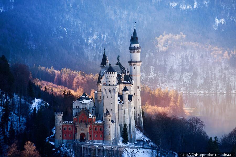 Фюссен и замок Нойшванштайн. Фюссен, Германия