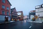 Небольшой городок Фюссен является последней точкой популярного туристического маршрута —