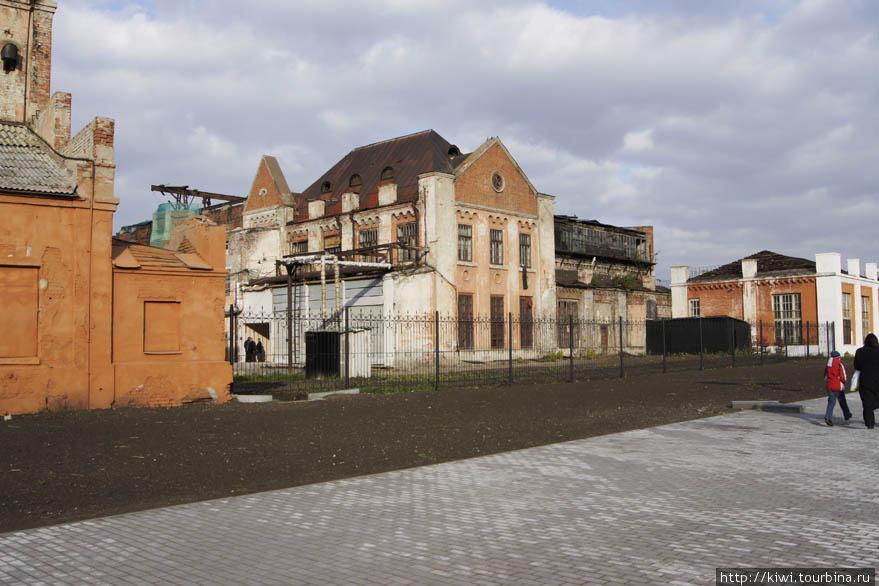 Здания в районе первой ТЭЦ