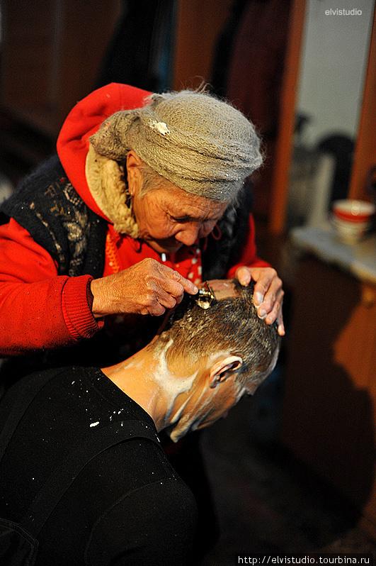 Сбривание волос — ритуал