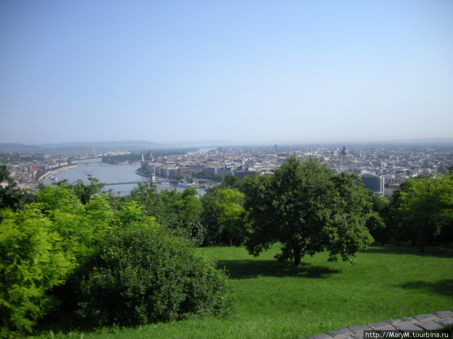Парк на горе Геллерт.