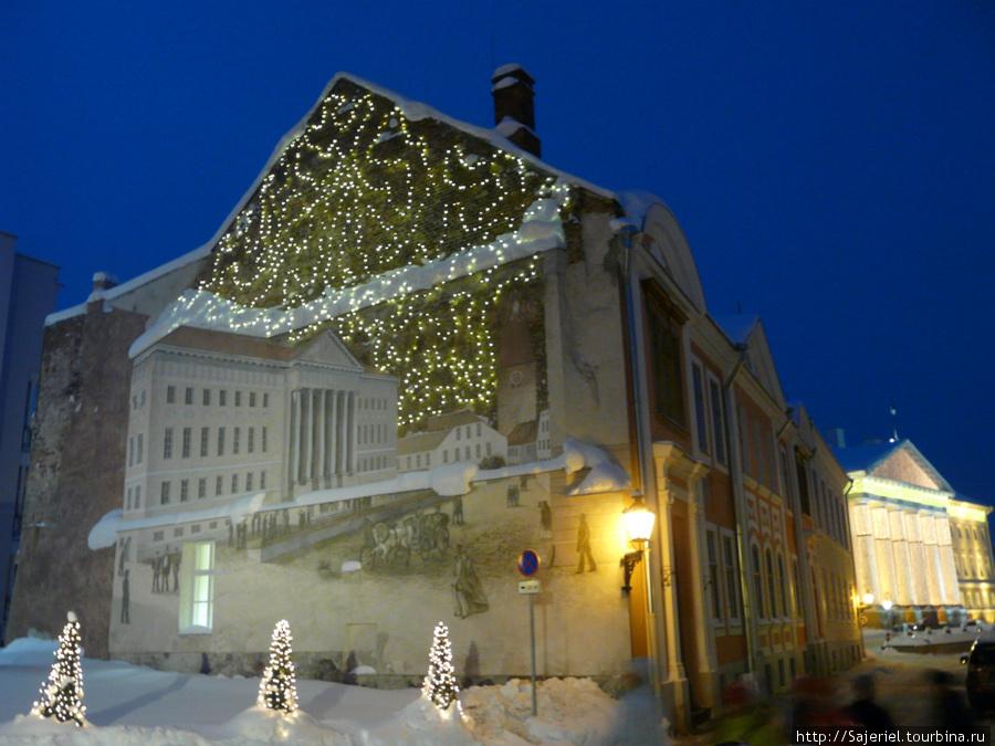 Тарту в Рождество