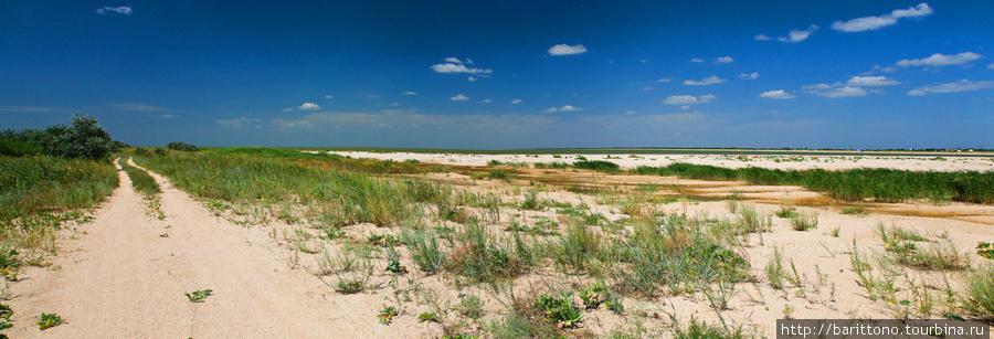 Безлюдные пляжи Ясенской косы