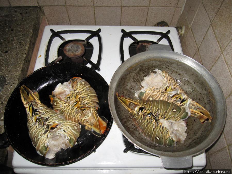 ужин готовим сами :)