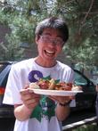 Jellen из Китая знакомится с американской кухней