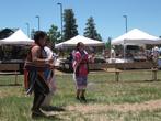 Индейский ритуальный танец. Открытое выступление по выходным в г.Тусаяне.