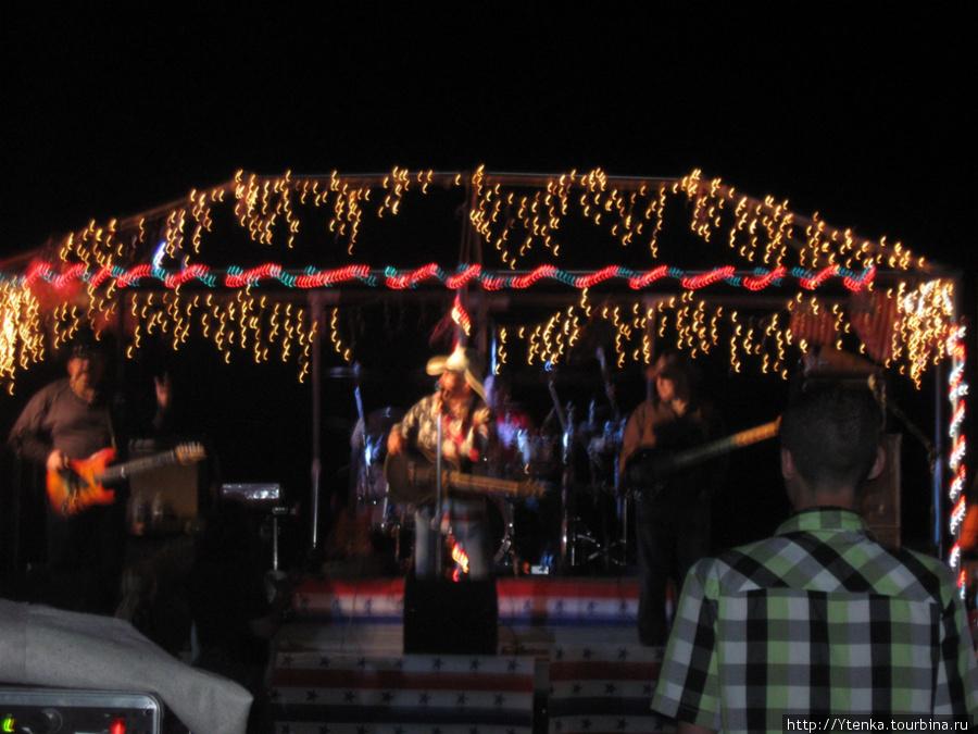 Открытый концерт группы Mogollon.