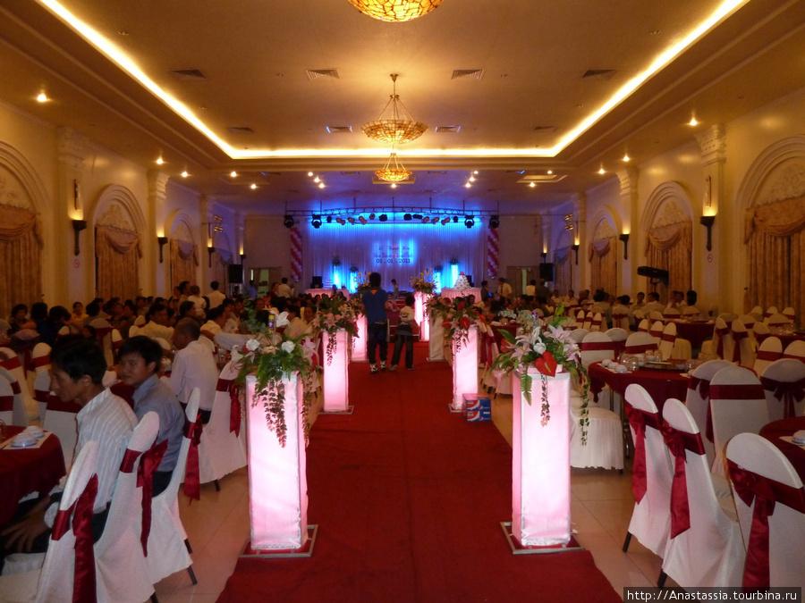 Зал для проведения свадеб.