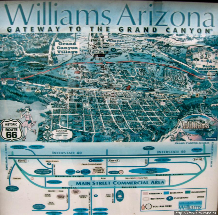карта Вильямса.
