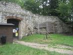 вход в Липовецкий замок