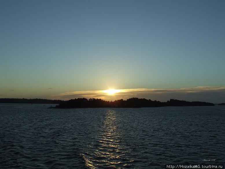 Рассвет на Балтийском море
