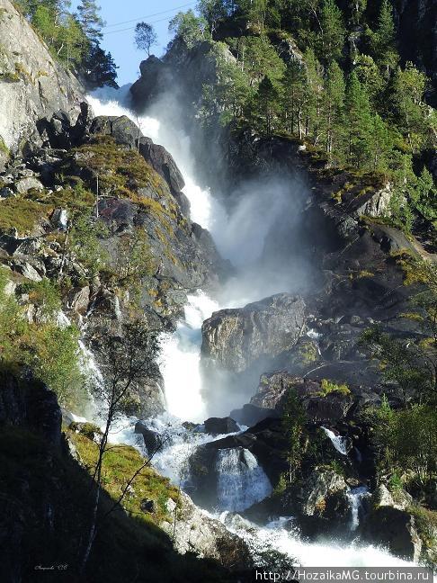 Водопад Латефоссен