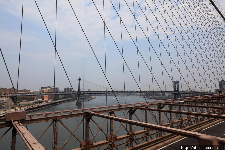 вид на Манхэттенский мост