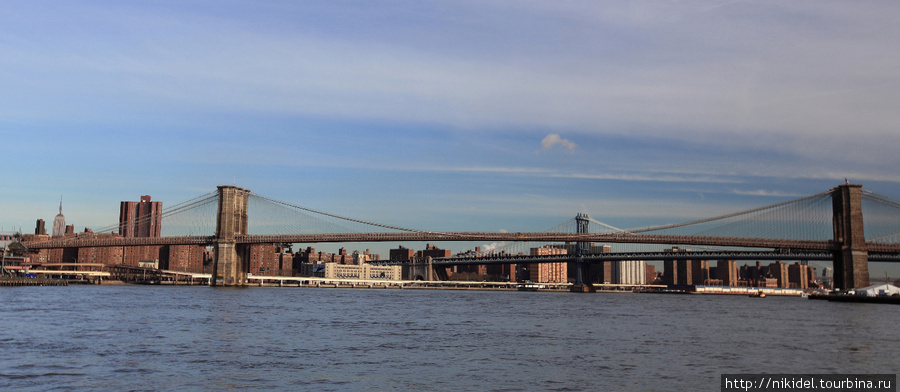 Бруклинский и Манхэттенский мосты