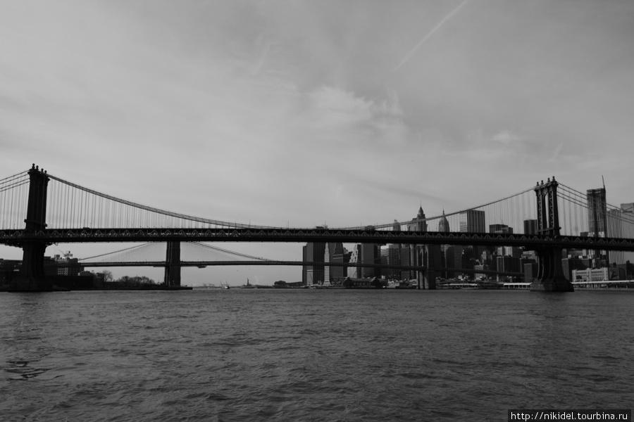 Манхэттенский мост и Манхэттен