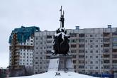 Памятник основателям Сибири