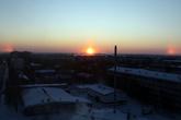 Восход над Сургутом