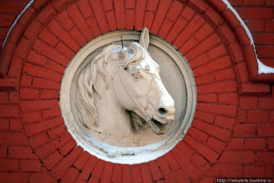 Отсюда взяли коней для съ