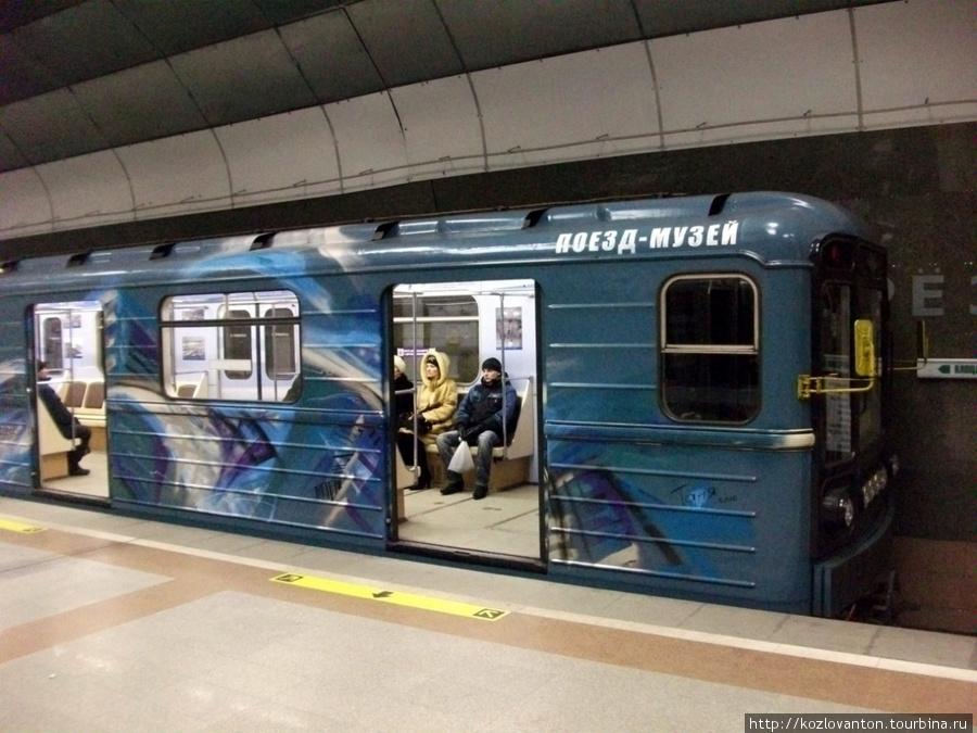 Поезд-музей отправляется!