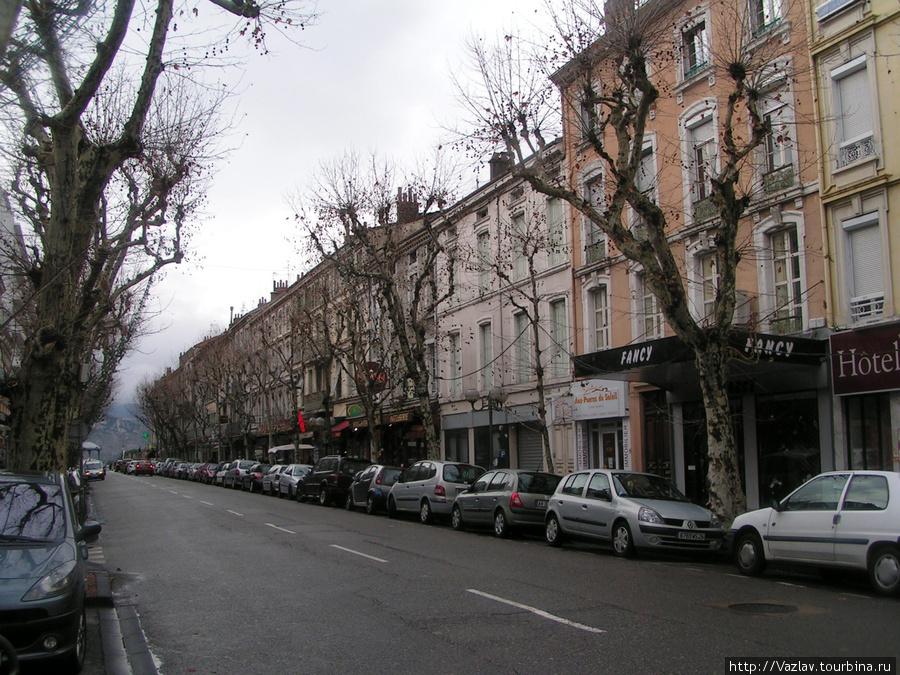 Местный пейзаж Валанс, Франция