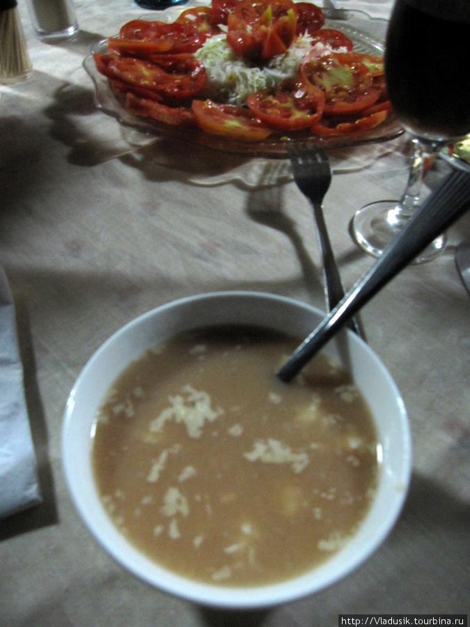 вкусный свежий рыбный суп