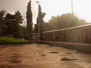Любят в Греции раскрашиввать вагоны..и настоящих поездов тоже...