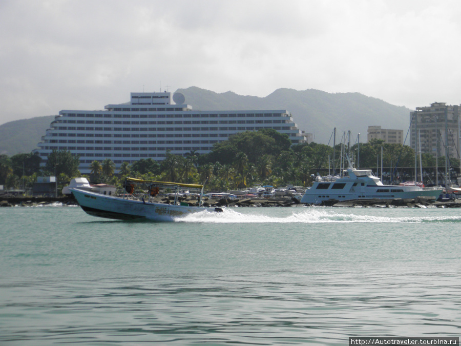 Puerto la Kruz.  eto mi´poexali na ostrova.