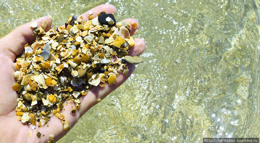 Песок ракушечник