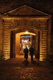 Главные ворота... строгие образы... Вечерний свет лишь добавляет значительности!
