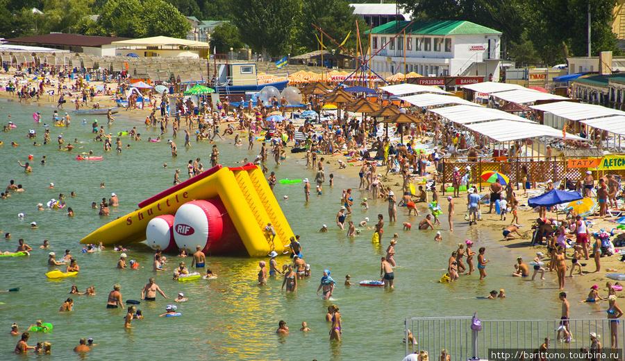 Один из пляжей Анапы