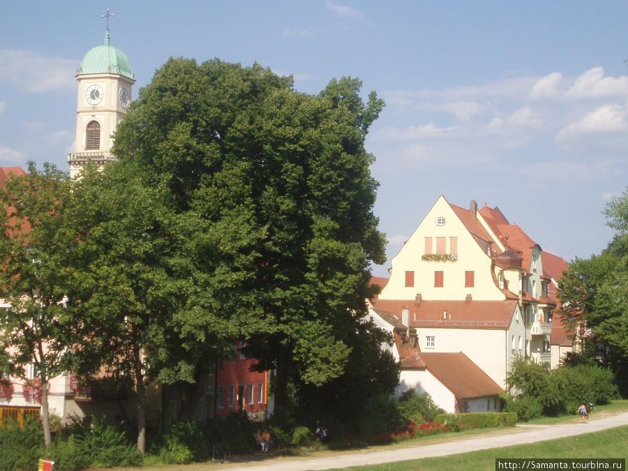 Регенсбург - чудесный баварский городок Регенсбург, Германия