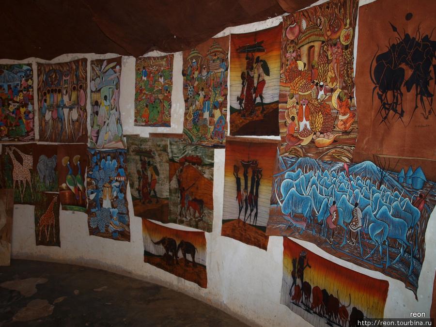 Картины на barkcloth