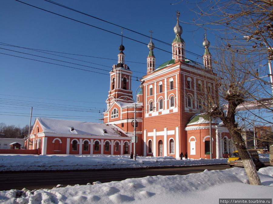 Николо-Ямской храм.