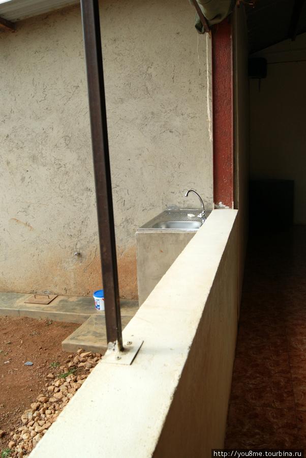 здесь можно вымыть руки
