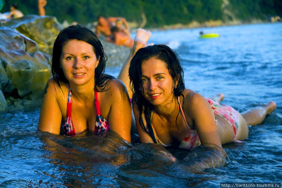 Две русалки встретили меня в Новомихайловском